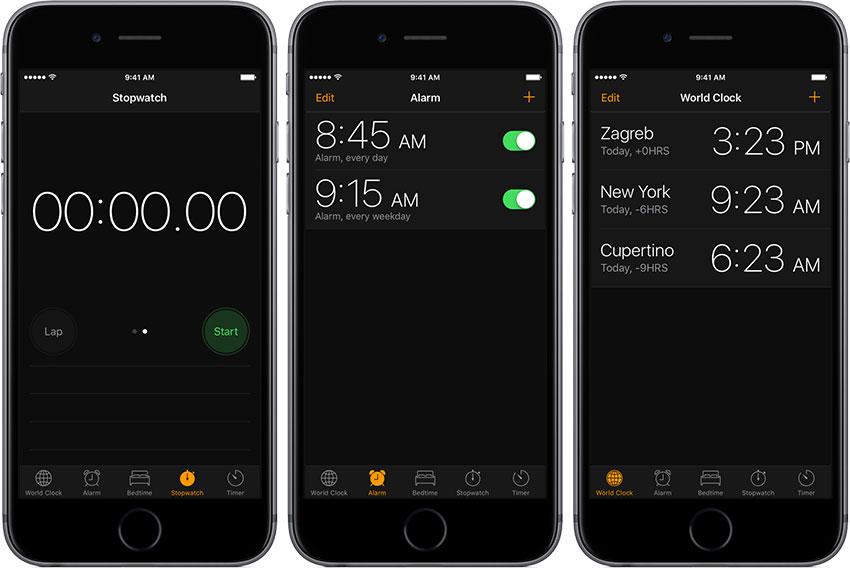 ios11 drak mode mode nuit iOS 11 : Le mode nuit ou Dark Mode sappelle en fait Invert Colors