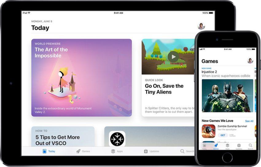 nouvel app store WWDC 2017 : un nouvel App Store totalement revu a été présenté