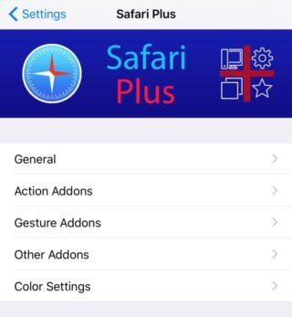 safari plus iphone 320x347 Cydia : Safari Plus, ajouter un tas de nouvelles options sur Safari (apparence et fonctionnalités)