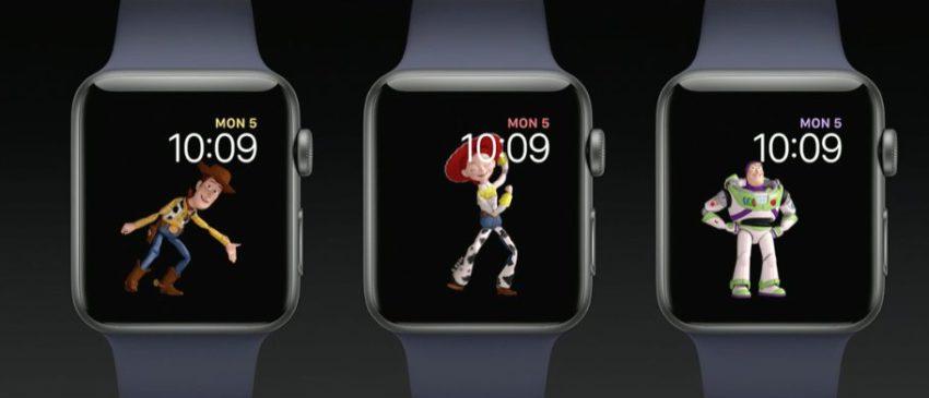 toy story apple watch Bilan Keynote WWDC 2017 (iOS 11, HomePod, iMac Pro, iPad Pro, macOS High Sierra...)
