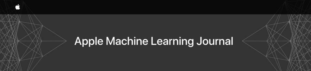 Ouverture du journal de bord de lApple Machine Learning