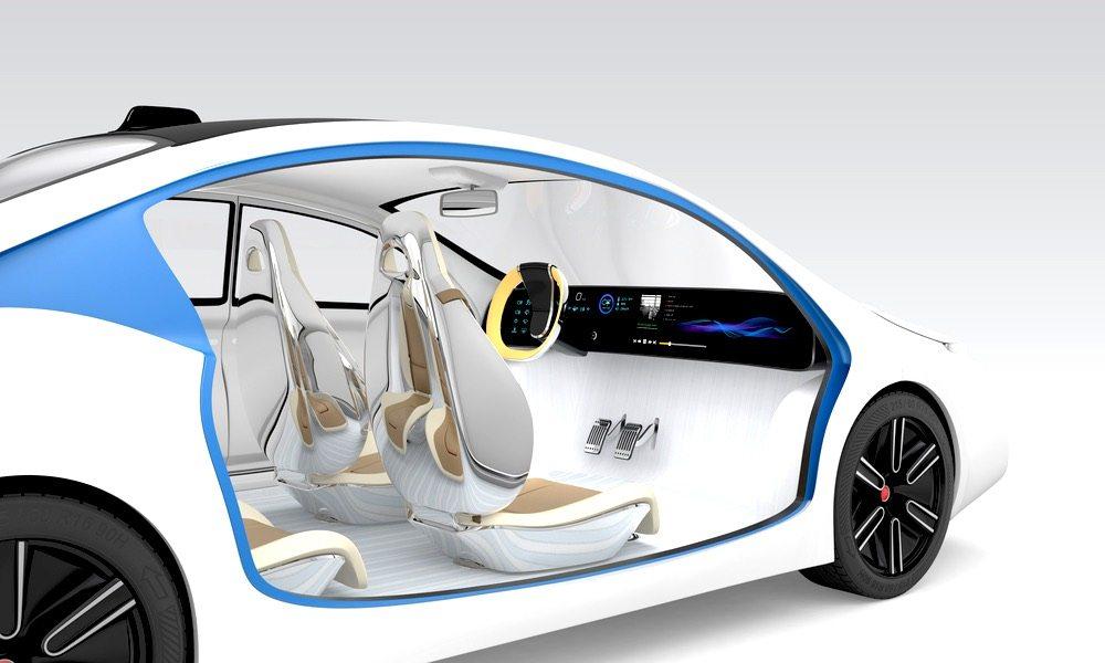 Apple Car Concept Self Driving Vehicle1 Voiture électrique : Apple viendrait de signer un contrat avec un constructeur chinois de batteries