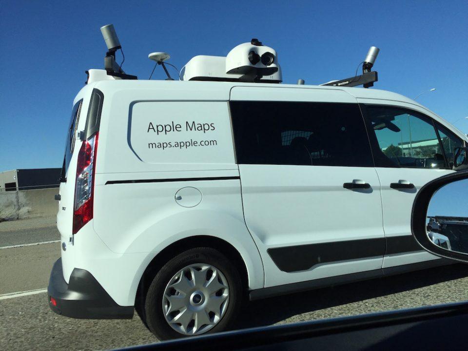 Apple Maps Voiture Des véhicules dApple en vadrouille en Espagne pour lamélioration de Plans