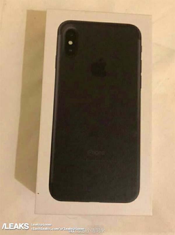 Boite iPhone 8 iPhone 8 : une photo de la supposée boîte fait son apparition