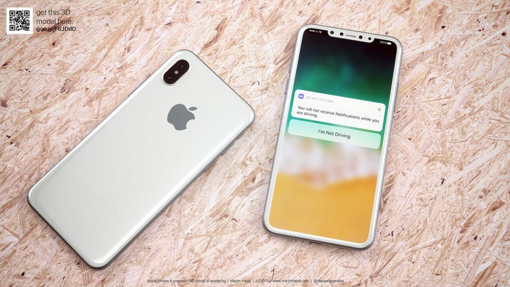 Martin Hajet Concept iPhone 8 2 iPhone 8 : pas de Touch ID, capteur 3D pour la reconnaissance faciale ?