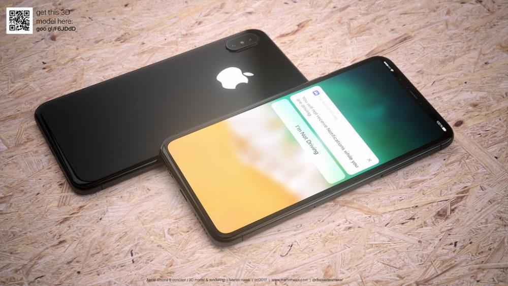 Martin Hajet Concept iPhone 8 3 iPhone 8 / iPhone 7s (Plus) : des soucis de disponibilité pour la mémoire flash