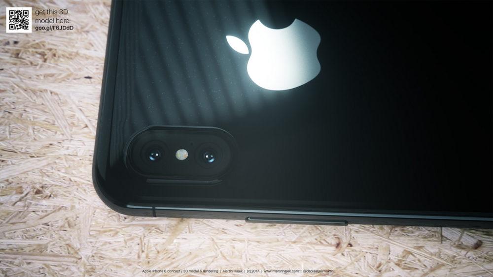 Martin Hajet Concept iPhone 8 4 iPhone 8 : Apple commande des capteurs 3D auprès de Viavi