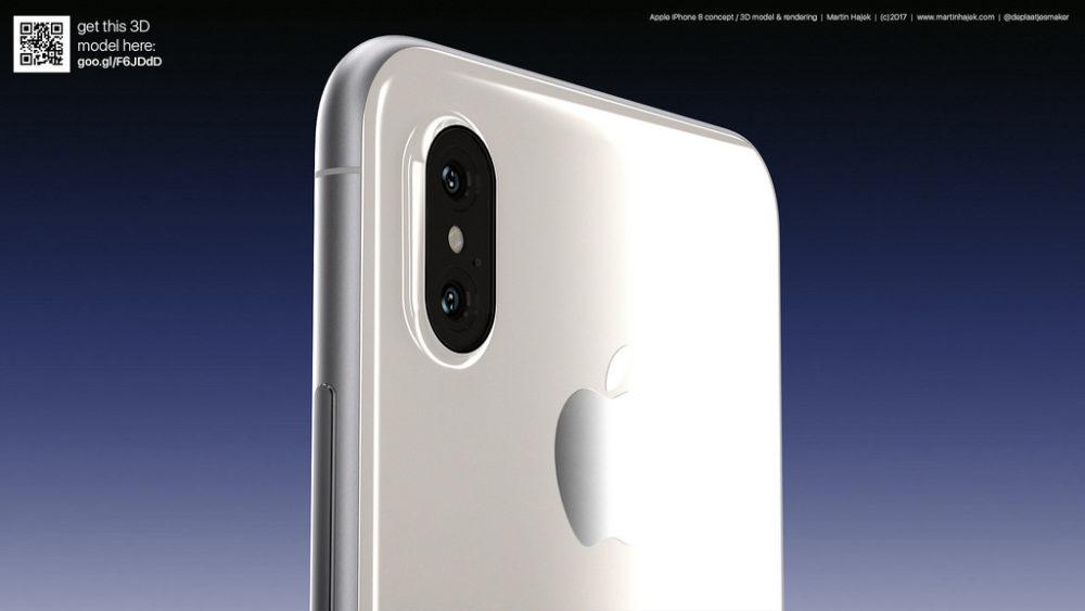 Martin Hajet Concept iPhone 8 6 iPhone 8 : la recharge sans fil et les capteurs 3D créent un vent de panique chez Apple