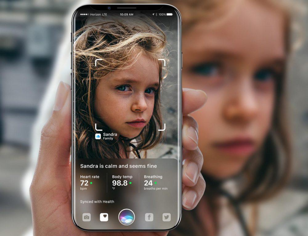 iOS 11 confirme la reconnaissance faciale de liPhone 8