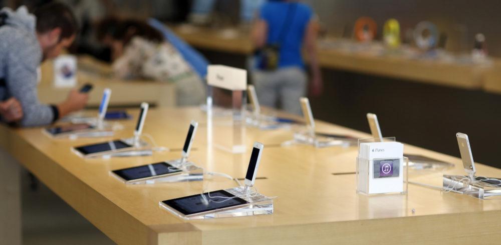 apple store Apple dévoilerait son iPhone 8 le 5 ou 6 septembre