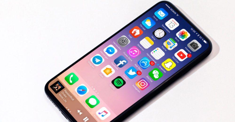 iphone 8 concept1 2 Fin des rumeurs sur le retard de liPhone 8
