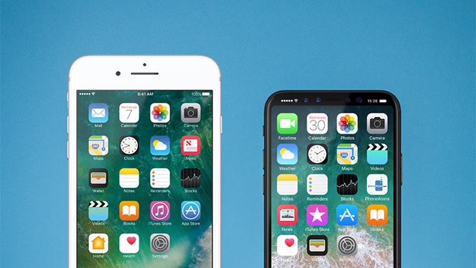 iphone 8 vs iphone 7 plus Et si liPhone 8 était plus grand que prévu ?