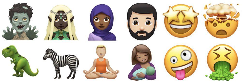 new emoji apple Journée mondiale des Emoji : Apple nous laisse apercevoir les nouveaux à venir cet automne