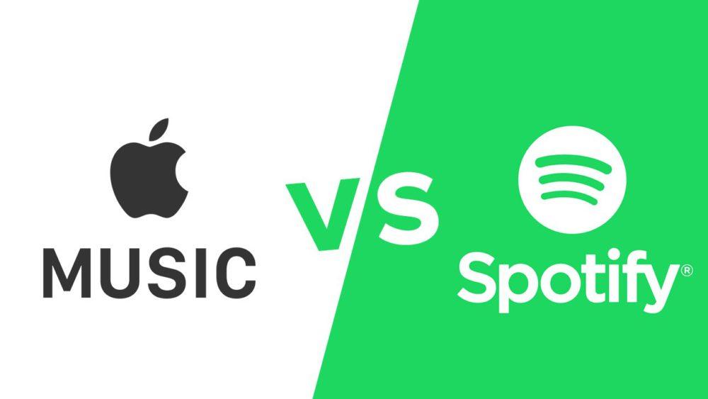apple music spotify competition Spotify détrône Apple Musique sur le nombre dabonnés
