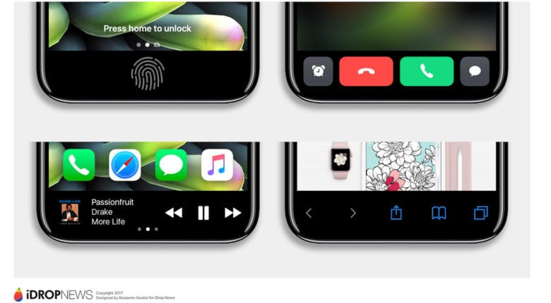 iPhone 8 Function Area iDrop News Exclusive 7 780x430 Le code dApple révèle les secrets du bouton Home virtuel de liPhone 8