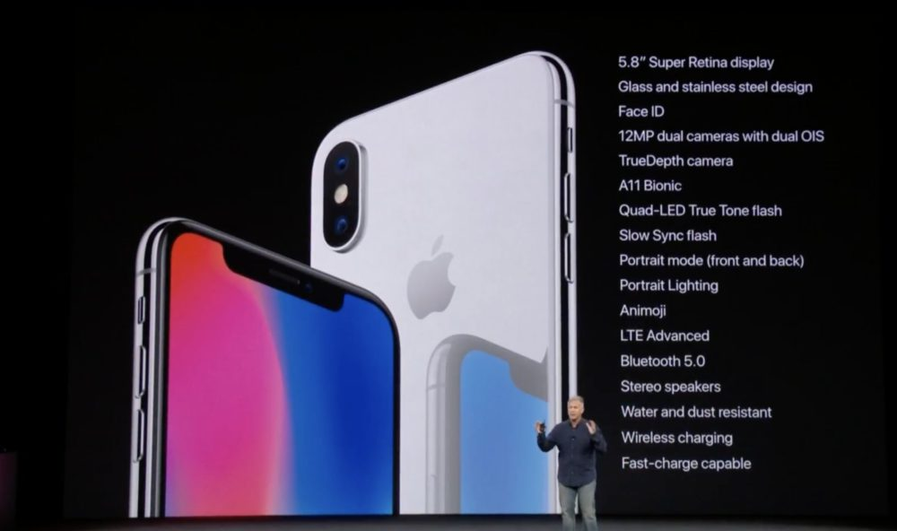 12MP Bilan Keynote iPhone X/8 (Apple Watch Series 3, Apple TV 4K HDR, iPhone 8, iPhone 8 Plus, iPhone X)