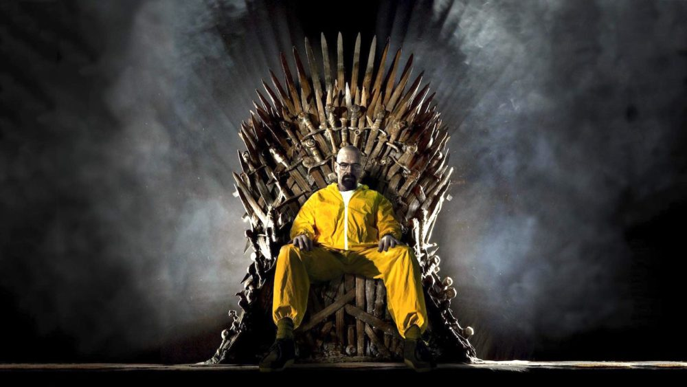 Breaking Bad Walter White Game of Thrones Apple a pour objectif de créer des séries phares comme Game of Thrones et Breaking Bad