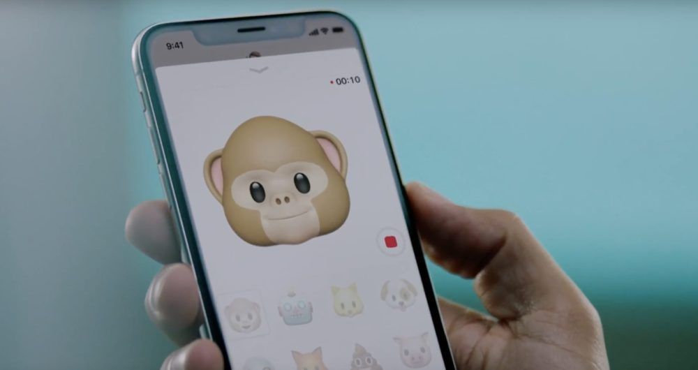 animoji Bilan Keynote iPhone X/8 (Apple Watch Series 3, Apple TV 4K HDR, iPhone 8, iPhone 8 Plus, iPhone X)