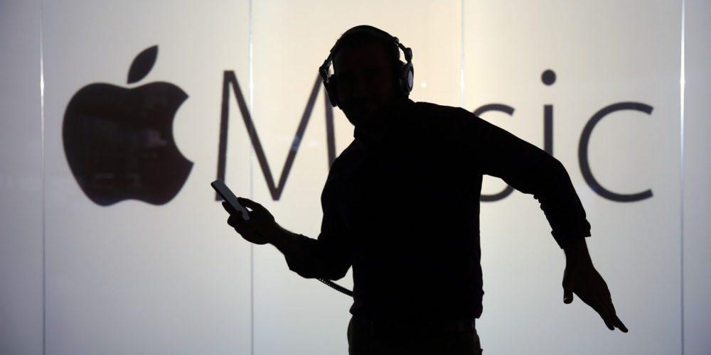 apple music logo dancing Apple Music est le service de streaming le moins populaire, sauf chez les jeunes