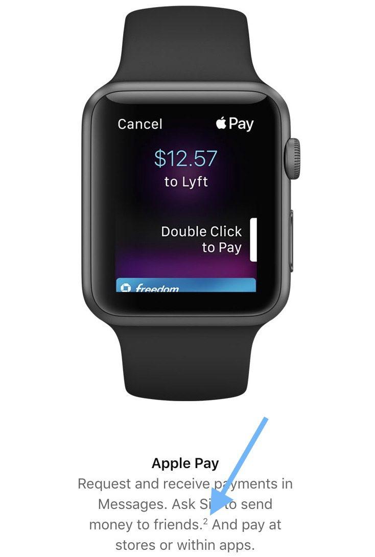 apple pay cash apple watch1 2 Apple Pay Cash arrivera fin octobre