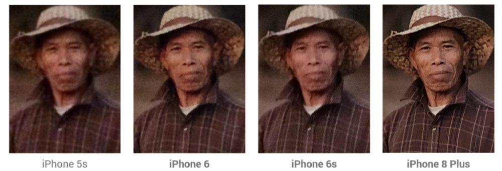asian old guy apple comparison 1024x350 La caméra de liPhone 8 Plus est la meilleure jamais vue sur un smartphone