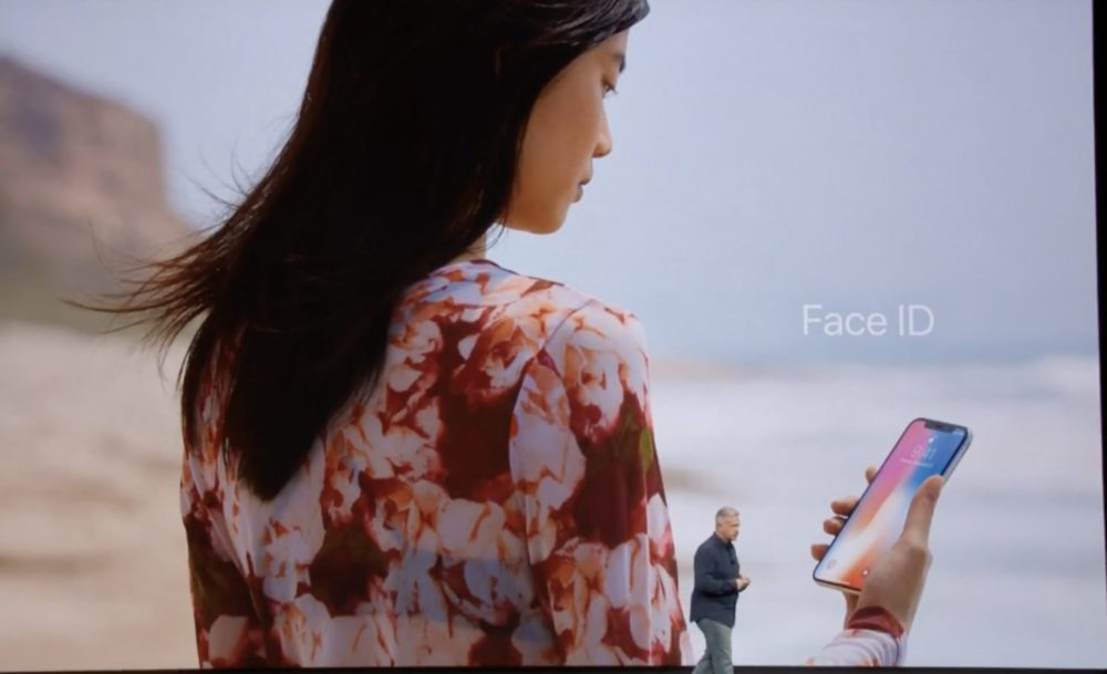 faceid 1 Bilan Keynote iPhone X/8 (Apple Watch Series 3, Apple TV 4K HDR, iPhone 8, iPhone 8 Plus, iPhone X)