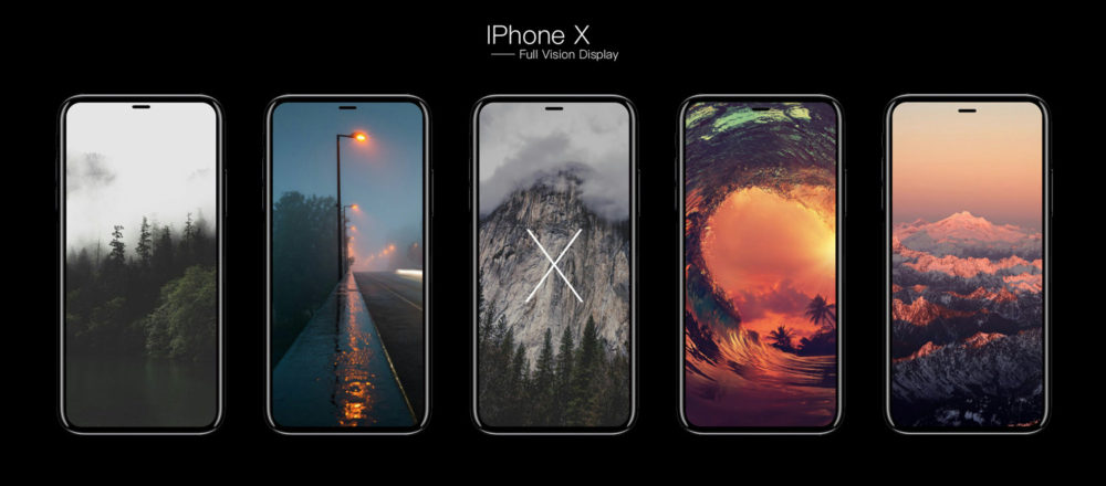 iPhone 8 Full Vision Display iFanr mockup 001 iPhone X : taille de la batterie et de la RAM confirmées