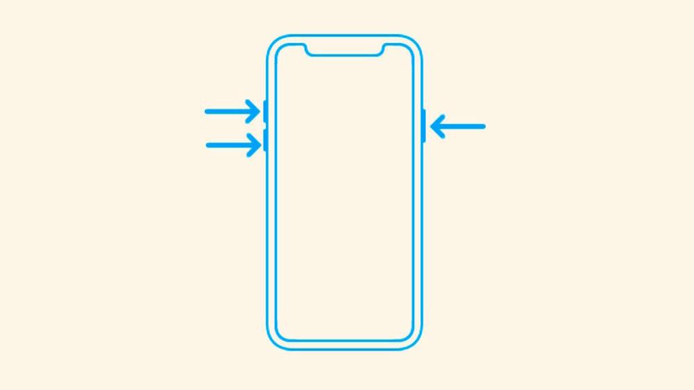 iPhone x redemarrage force 1000x563 Faire un redémarrage forcé sur un iPhone 8 ou un iPhone 8 Plus