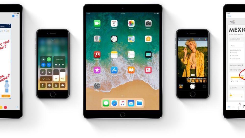 ios 11 iphone ipad iOS 11 est à présent installé sur 65% des iPhone, iPad et iPod touch