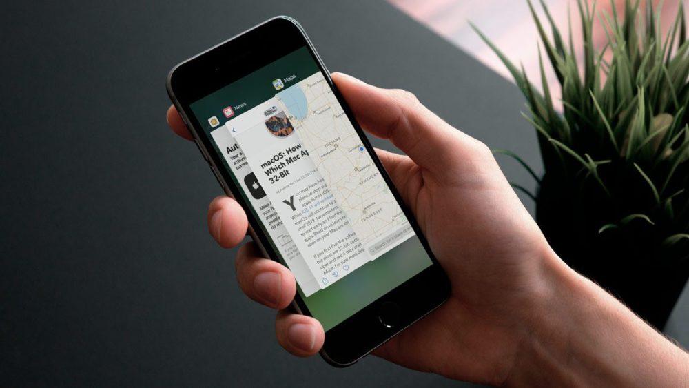 iphone app switcher 1200x675 iOS 11 : le geste 3D Touch pour accéder à lApp Switcher fera son retour prochainement