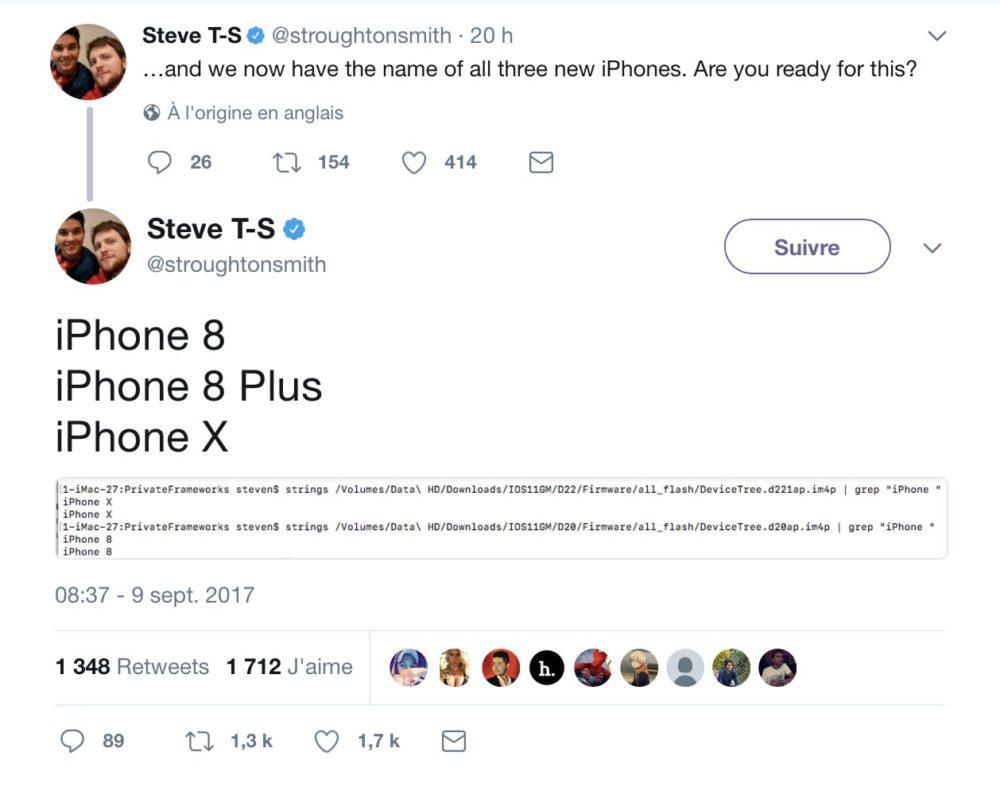 iphonex iPhone X : iOS 11 Golden Master a fuité sur Reddit