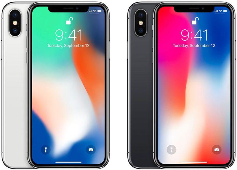 iphonexcolors 800x573 KeyBanc Capital Markets annonce les mauvaises ventes de liPhone X