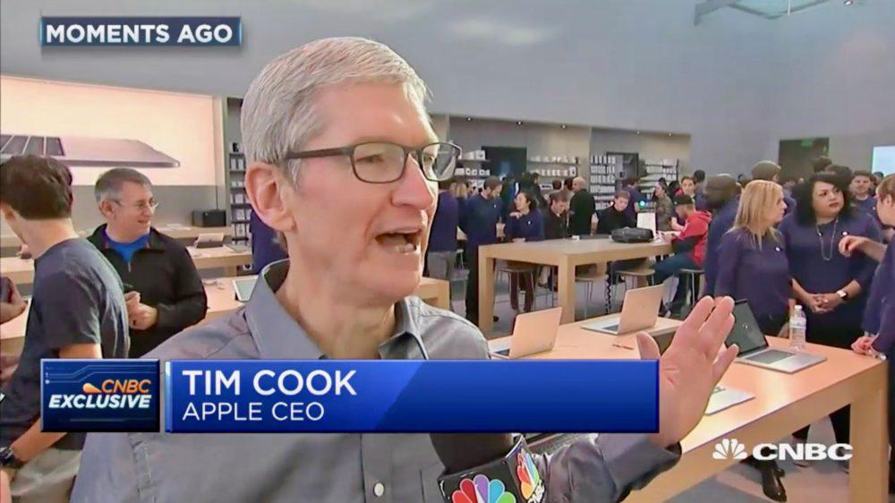 tim cook iphone 8 launch Vente de liPhone 8 et Apple Watch Series 3 : Tim Cook se dit très satisfait