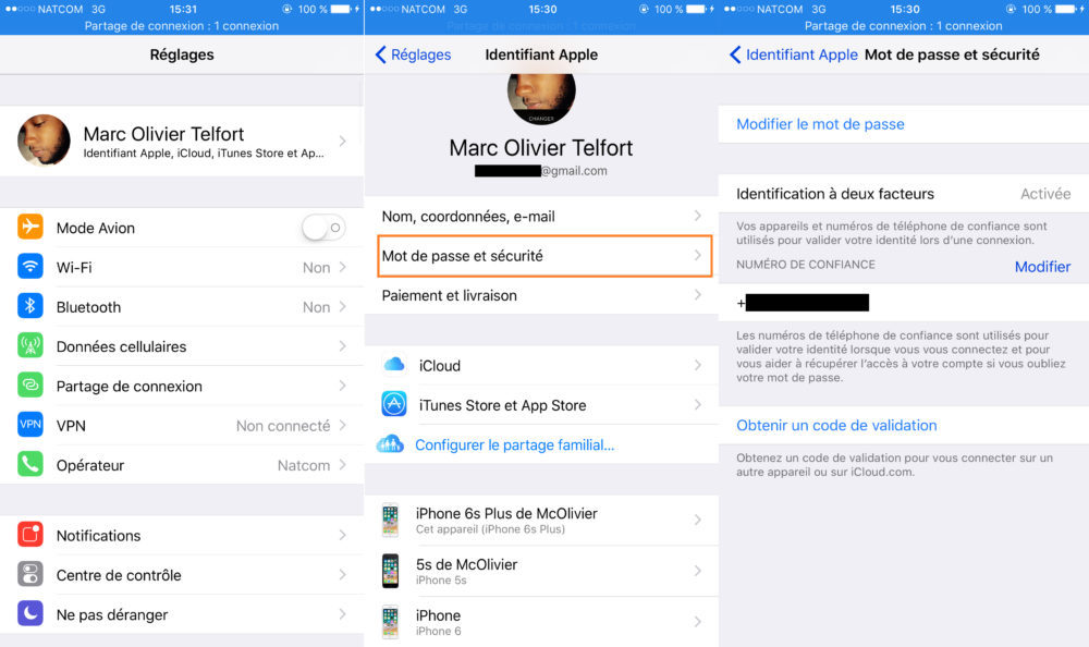 Apple ID Authentification Deux Facteurs 1000x594 Astuce : empêcher les applications iOS de voler le mot de passe de votre Apple ID