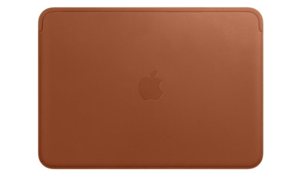 Une housse apple pour macbook en cuir v ritable d sormais for Housse macbook 12