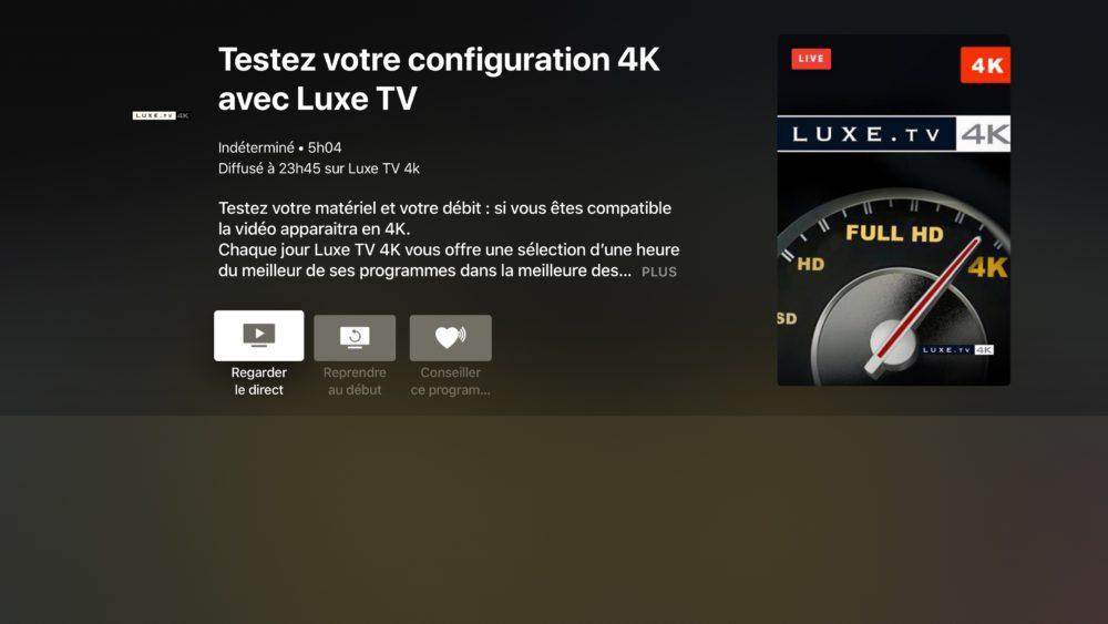Molotov Apple TV : le contenu 4K et 1080p arrive sur Molotov