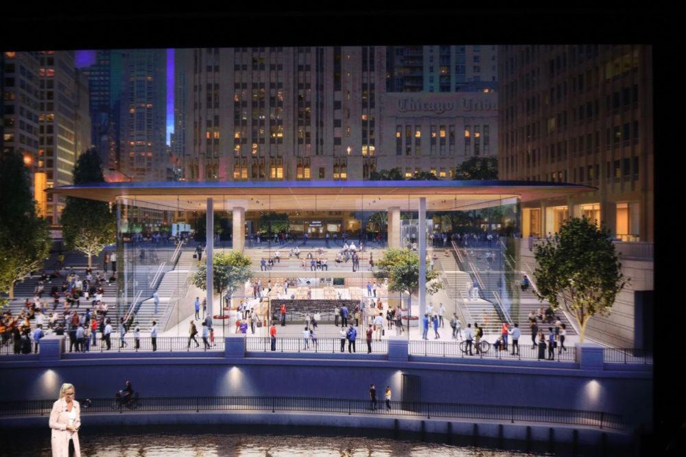 Nouvel Apple Store Chicago 1000x667 Canada : les Apple Store ont rouvert leurs portes