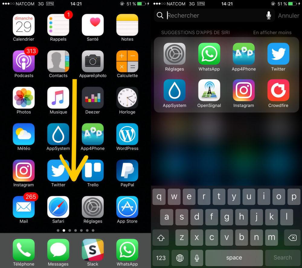 Screenshots 1000x889 Comment convertir des devises et des unités avec Spotlight sur iPhone