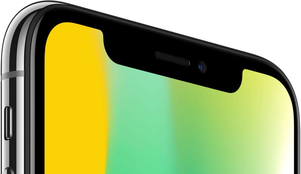 iPhone X Encoche Encoche plus discrète sur liPhone de 2018, iPad avec Face ID ?