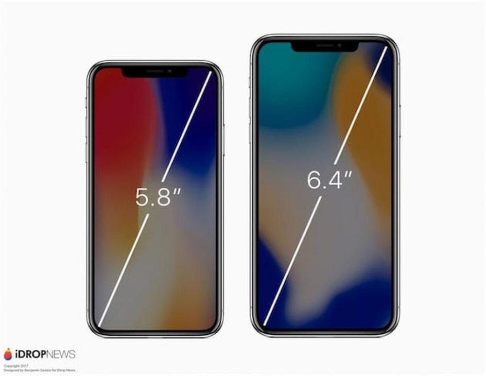 iPhone X Plus Concept 4 Concept : un iPhone X Plus comparé à un iPhone X