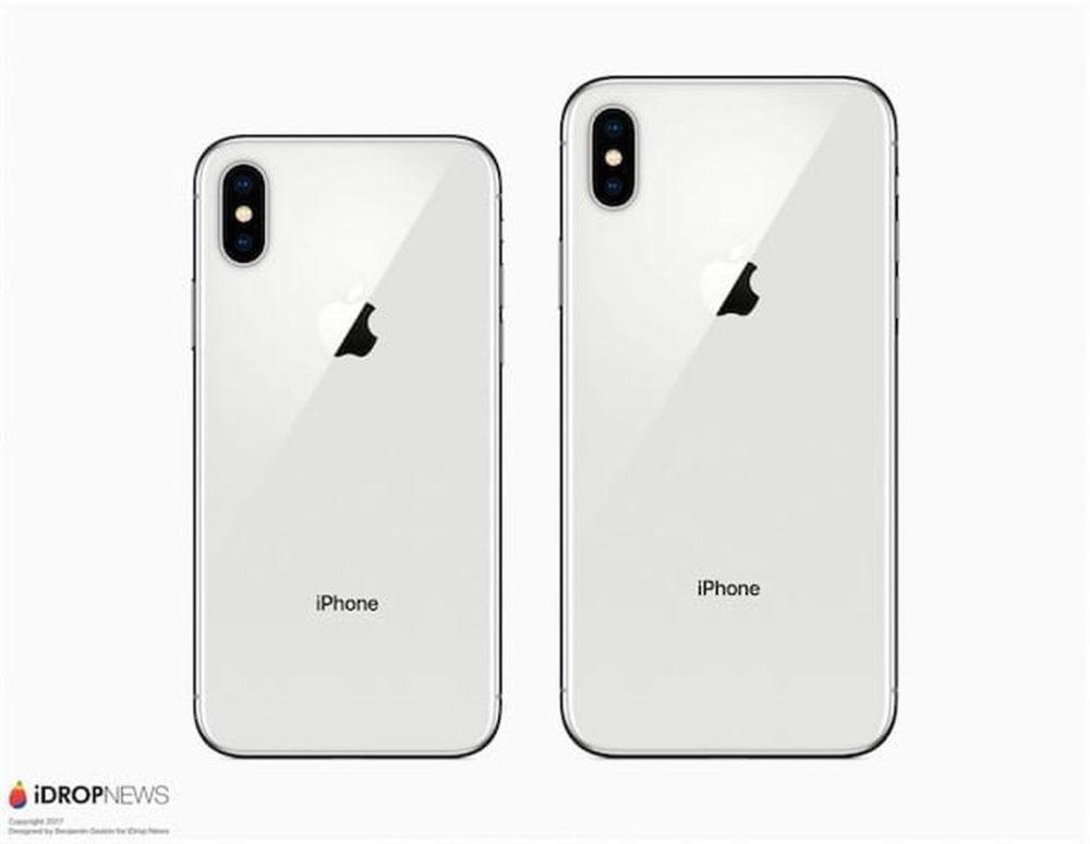 iPhone X Plus Concept Concept : un iPhone X Plus comparé à un iPhone X