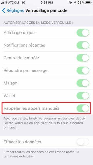 ios 11 proteger ses appels manques capture ecran 320x569 Astuce iOS 11 : comment protéger ses appels manqués