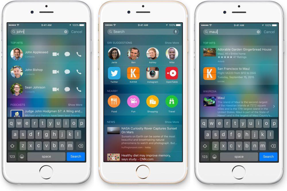 spotlight devises 1000x667 Comment convertir des devises et des unités avec Spotlight sur iPhone