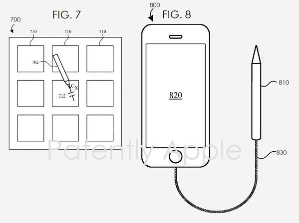 Apple Pencil iPhone Brevet : un Apple Pencil pour iPhone ?