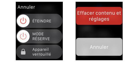 Apple Watch Hard Reset Mot de passe perdu sur Apple Watch : la solution pour la déverrouiller