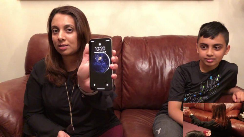 Face ID Deverouille Un enfant parvient à déverrouiller liPhone X de sa mère avec Face ID
