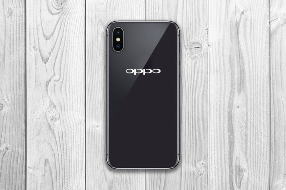 Oppo R13 Fuite Jeu des 7 erreurs : trouvez la différence entre lOppo R13 et liPhone X !