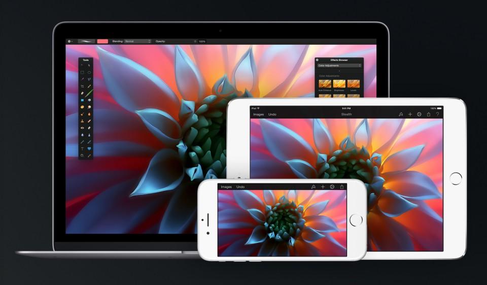 Pixelmator Pixelmator compatible iPhone X (+ belle promo sur iPhone et Mac)