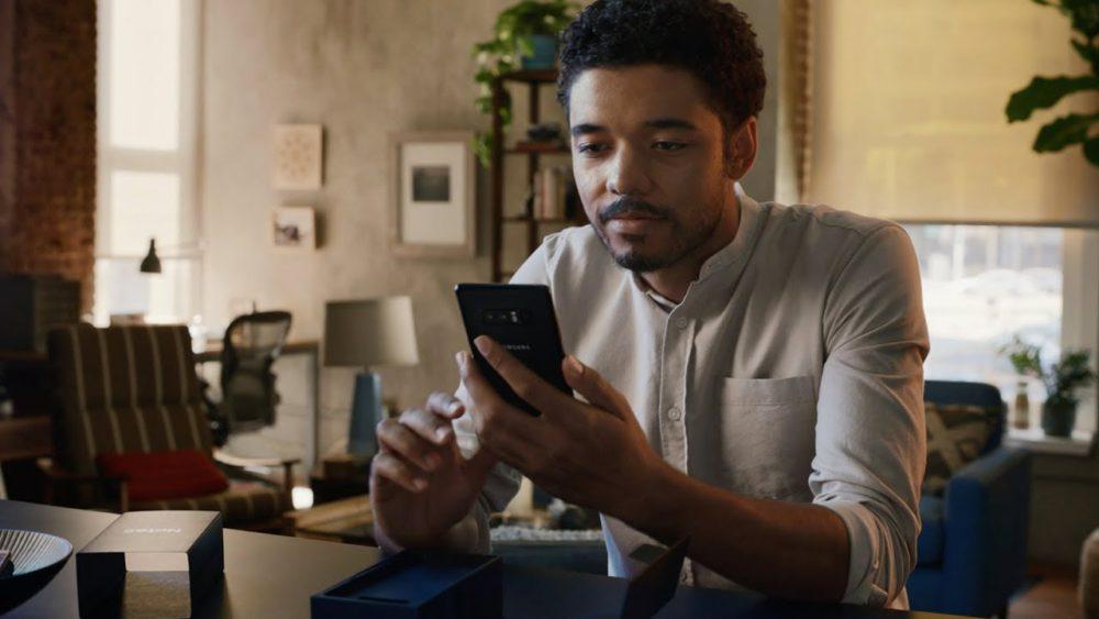 Samsung Publicite iPhone Samsung se moque des 10 ans de liPhone dans une nouvelle publicité