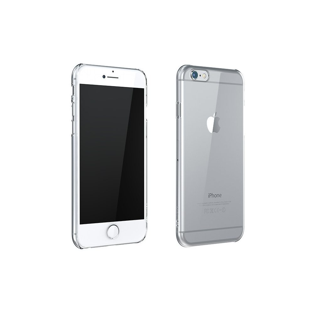 ZERO5 iPhone6 8 2 1000x1000 Coque ZERO 5 pour iPhone 6/6S, 7, 8, X & Plus (rigide, transparente et ultra fine de 0.5mm)